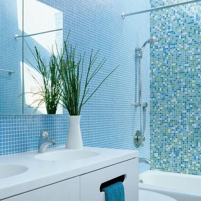 Bathroom Tile Ideas Blue 14 best elegant bathroom tile images on pinterest | bathroom ideas