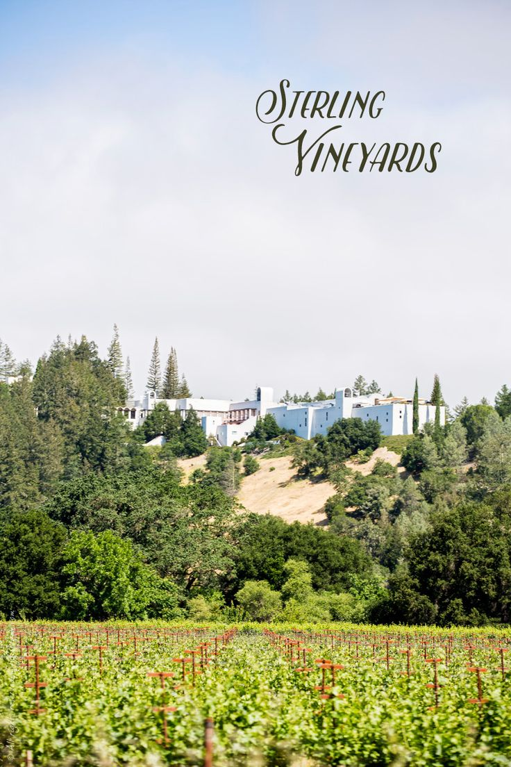 The Best Napa Valley Wineries for First-Time Visitors - Sterling Vineyards #VisitNapaValley