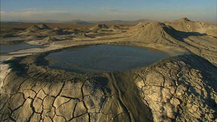 Montanhas do Cáucaso.