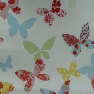 Butterfly Oilcloth in Chintz