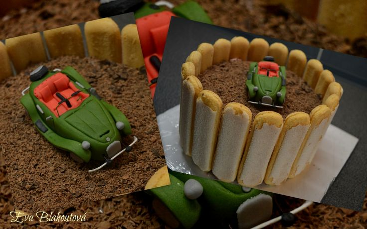Cake with Car