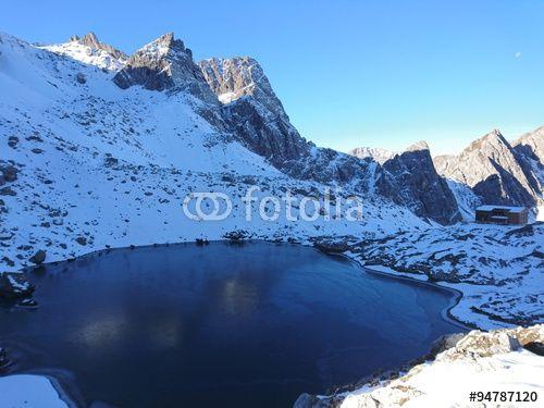 #Lienz #Dolomites #Karlsbaderhuette #Lake #Laserz 2.260m @fotolia #fotolia @dolomitenstadt #nature #landscape #snow #season #winter #autumn #fall #alps #mountains #outdoor #holidas #vacation #sightseeing #beautiful #wonderful #stock #photo #portfolio #download #hires #royaltyfree