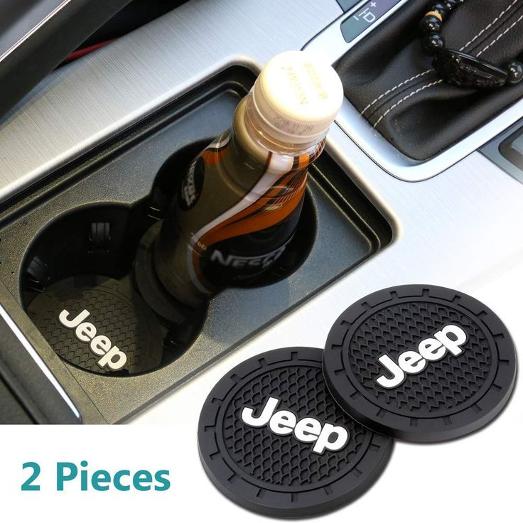 Anti Slip Cup Mat for Jeep in 2020 (With images) Car cup