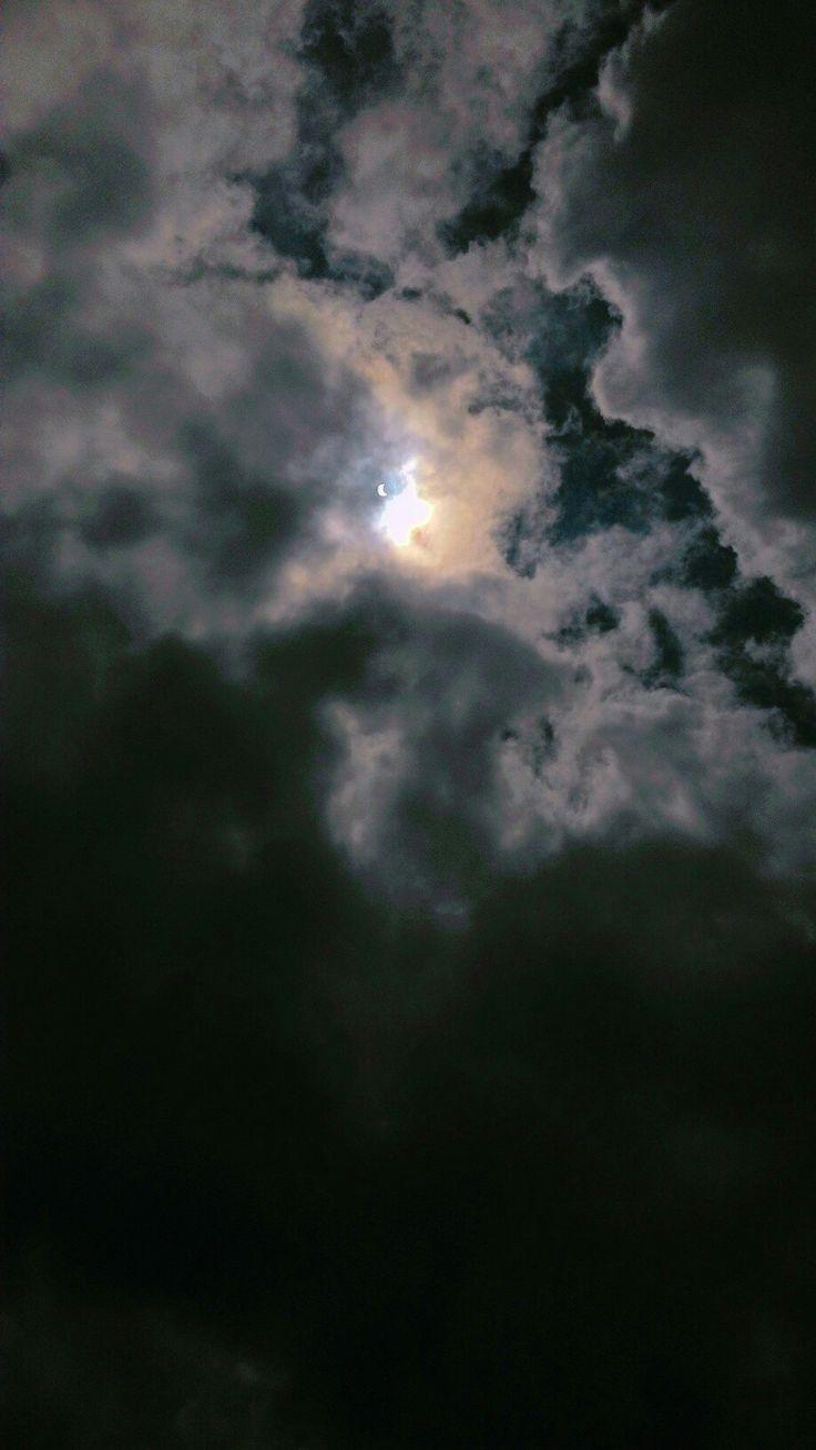 Nuvens, eclipse, tumblr