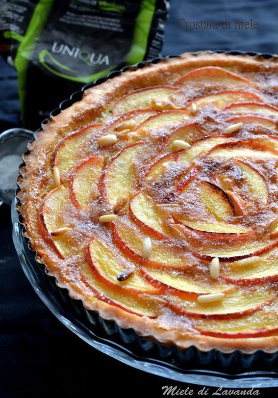 crostata di mele con farina tritordeum