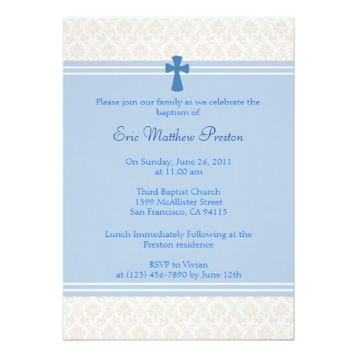 1813 best baptism christening invitations images on pinterest blue damask baptismchristening invitation stopboris Gallery