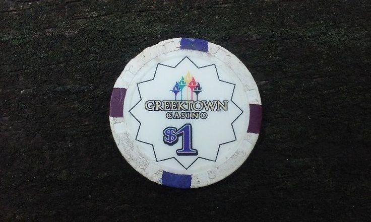 Greektown CasinoOne Dollar Chip Detroit Mi Poker Gaming Token Coin Hotel #gambling #coin #token #detroit #michigan #casino #slots #poker #vintage #ebay