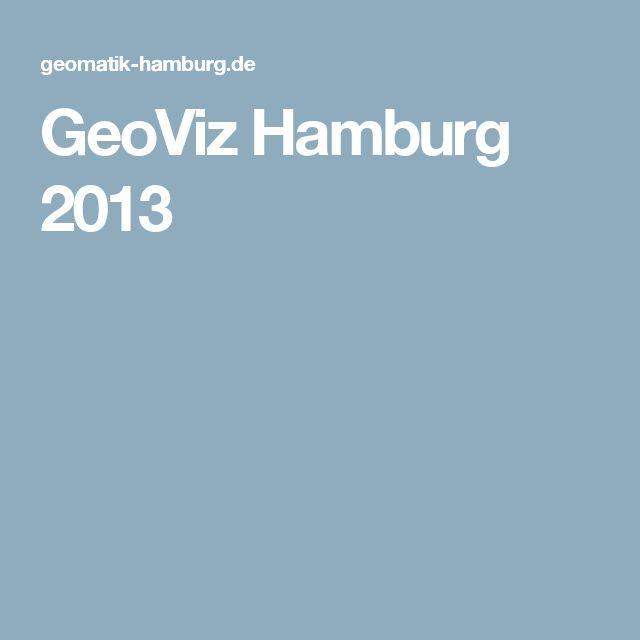 GeoViz Hamburg 2013