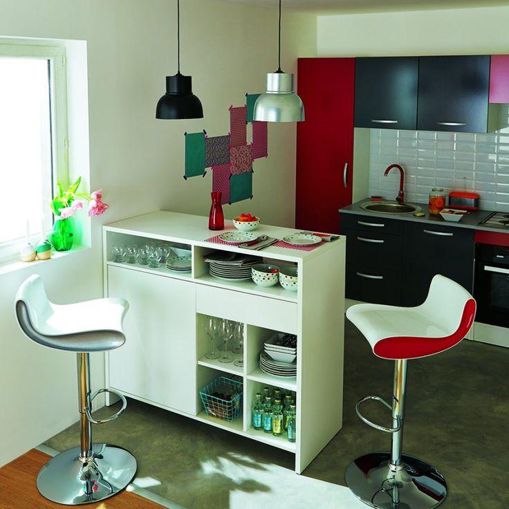 coin de repas cuisine tunisie cuisine en longueur blanche avec ilot bar et coin repas cuisine. Black Bedroom Furniture Sets. Home Design Ideas