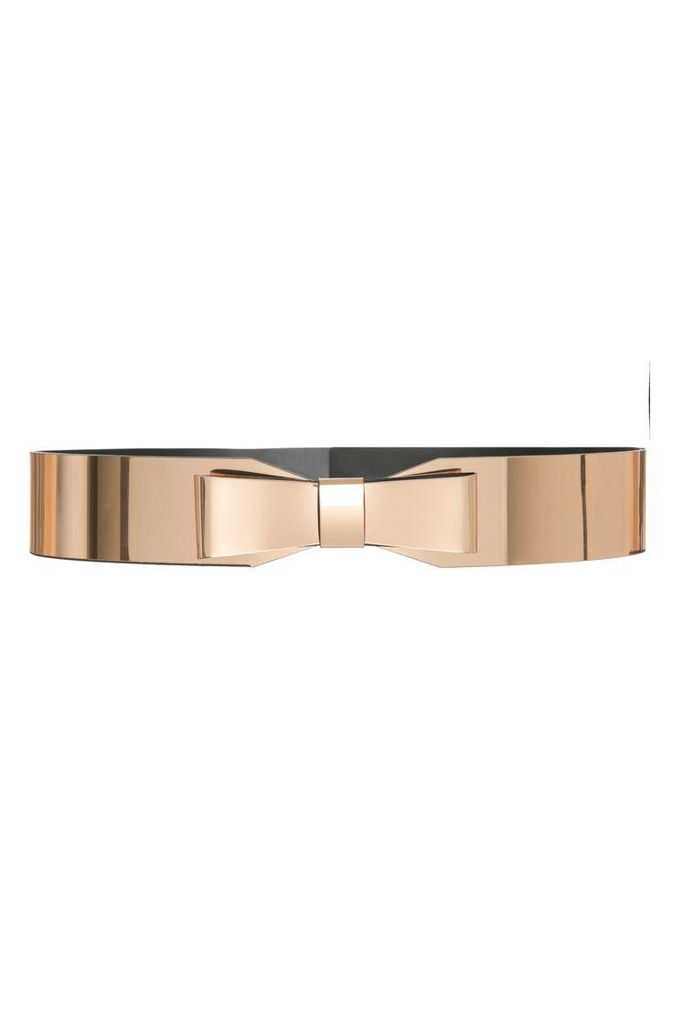 Metallic Bow Belt, kaviar gauche: Metallic Bow Belt