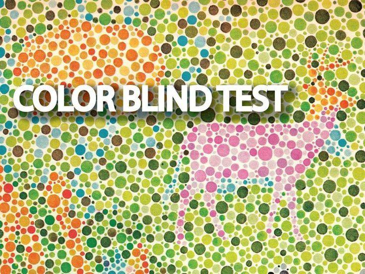 Ishihara Color Blind Test