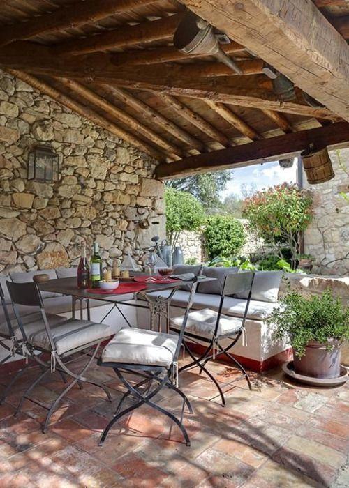 My inner landscape rustic pinterest terrazas de for Terrazas de campo