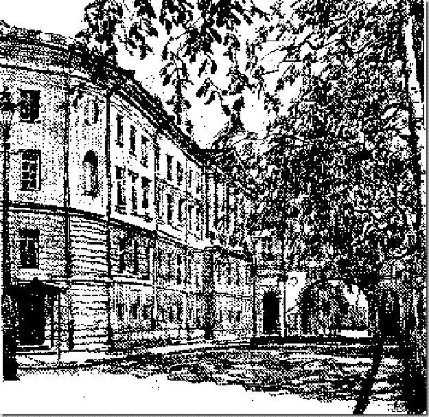 в списке успевающих учеников, который подготовили к выпускному вечеру, Пушкин был вторым с конца.
