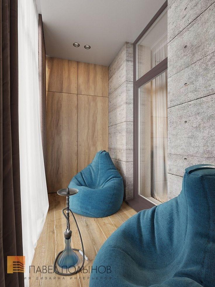 Фото: Кальянная - Интерьер квартиры в современном стиле, ЖК «Дом у березового сада», 168 кв.м.