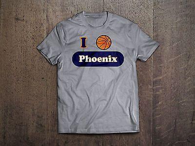 Brand New I love Phoenix Suns Arizona Basketball Hometown Spirit Shirt