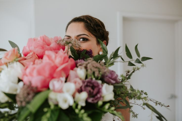 Priya in her Rue De Seine gown looking absolutely stunning on her Wanaka elopement day with photography by Alpine Image Company