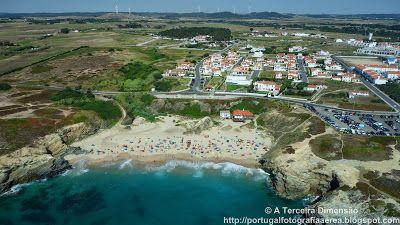 A Terceira Dimensão - Fotografia Aérea: Praia Grande (Porto Covo)