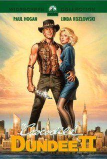 Movie: 'Crocodile' Dundee II: Movie Posters, Action Movie, Favourit Movie, Crocodiles Dund 2, Favorite Flicks, Dund Ii, Paul Hogan, Ii 1988, Favorite Movie