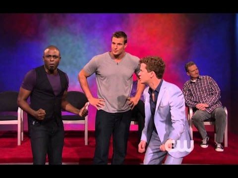 Ryan's First Whose Line Scene With Colin - YouTube