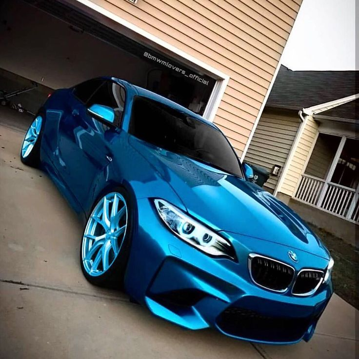 Klicken Sie auf das Bild für mehr !! BMW /// M2 F87😍💙 Edit: @bmwmlovers_officia …   – Cars
