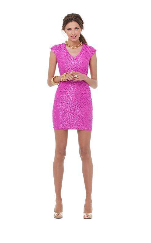 Lilly Pulitzer Resort '13- Selassie Dress in Va Va Voom Purple