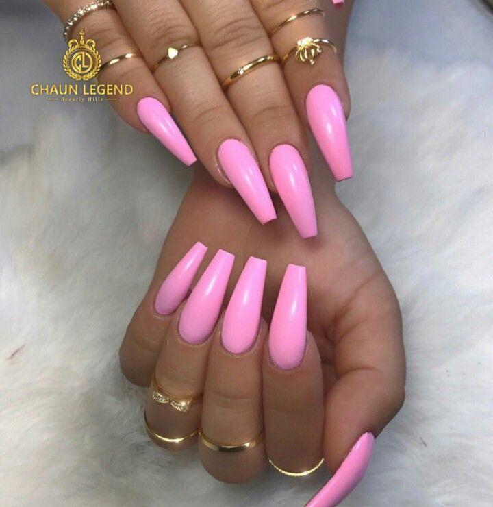 Pink Long Nails | Best Nail Designs 2018