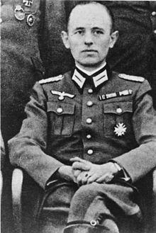 Weehmacht General Major Reinhard Gehlen - Chief of Wehrmacht Intelligence in the Eastern front.