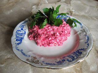 Домашняя кухня: Форшмак с селедкой и свеклой ( закуска)