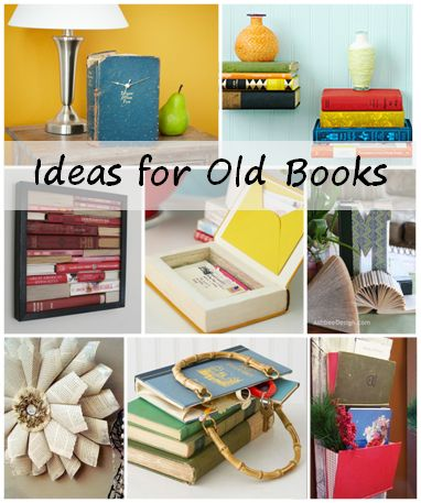 old book ideas
