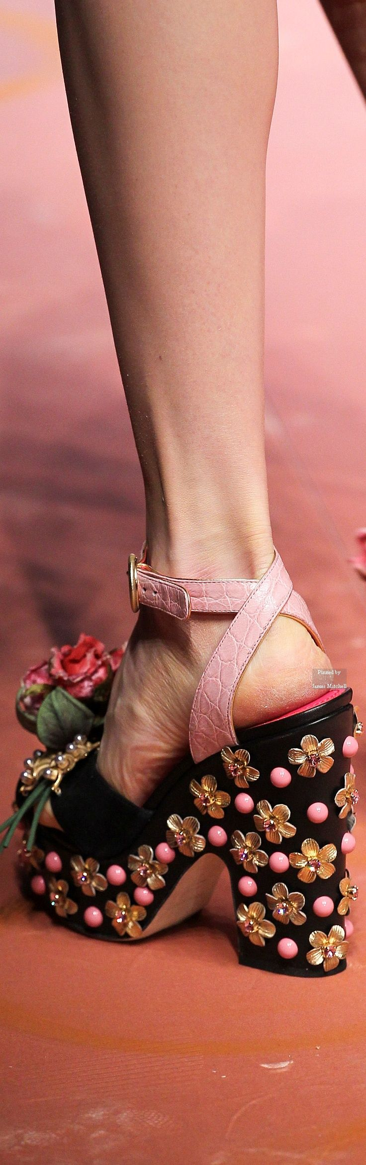 Dolce & Gabbana Collections Fall Winter collection Details v. Find this Pin  and more on Stone Fox Shoes ...