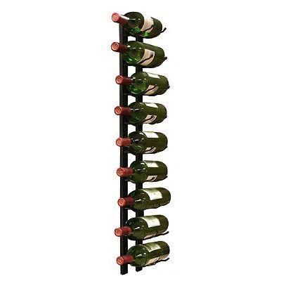 9-Bottle Wire Wine Rack -
