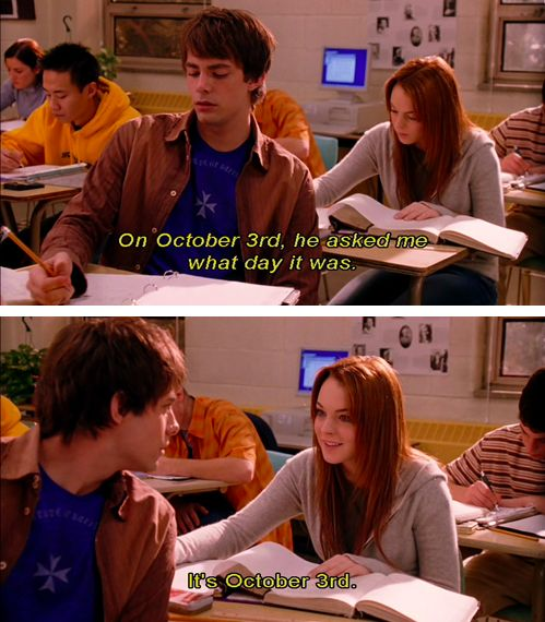 Happy October 3rd to you!
