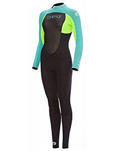 Animal Lava Back Zip 5~4~3 Womens Wetsuit Medium Long Powder Blue: Amazon.co.uk: Sports & Outdoors
