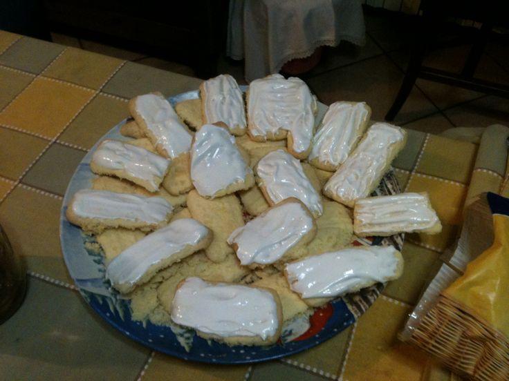 Biscotti con glassa SENZA GLUTINE