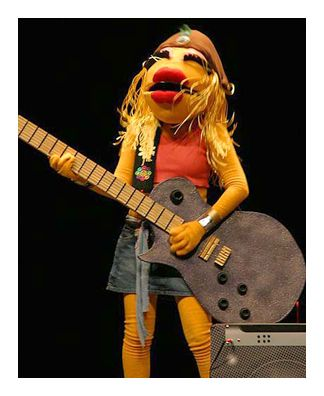 Image detail for -... costume of the muppet band character janice worn by the making