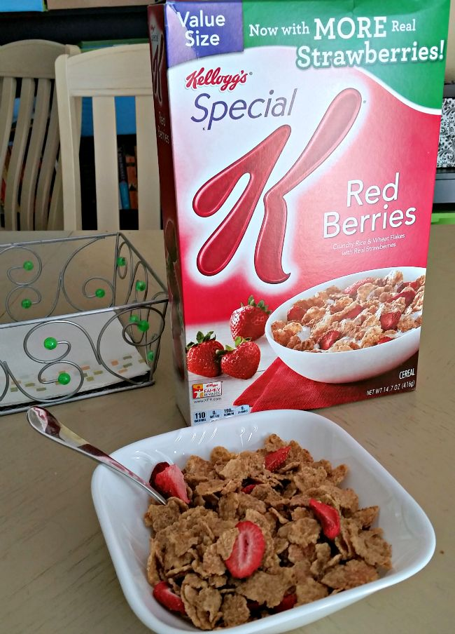 AD: Blog post at Life With Lisa : My breakfast cereal of choice for some time has beenSpecial K® Red Berriesso when they reached out to me to see if I might be... EFSF