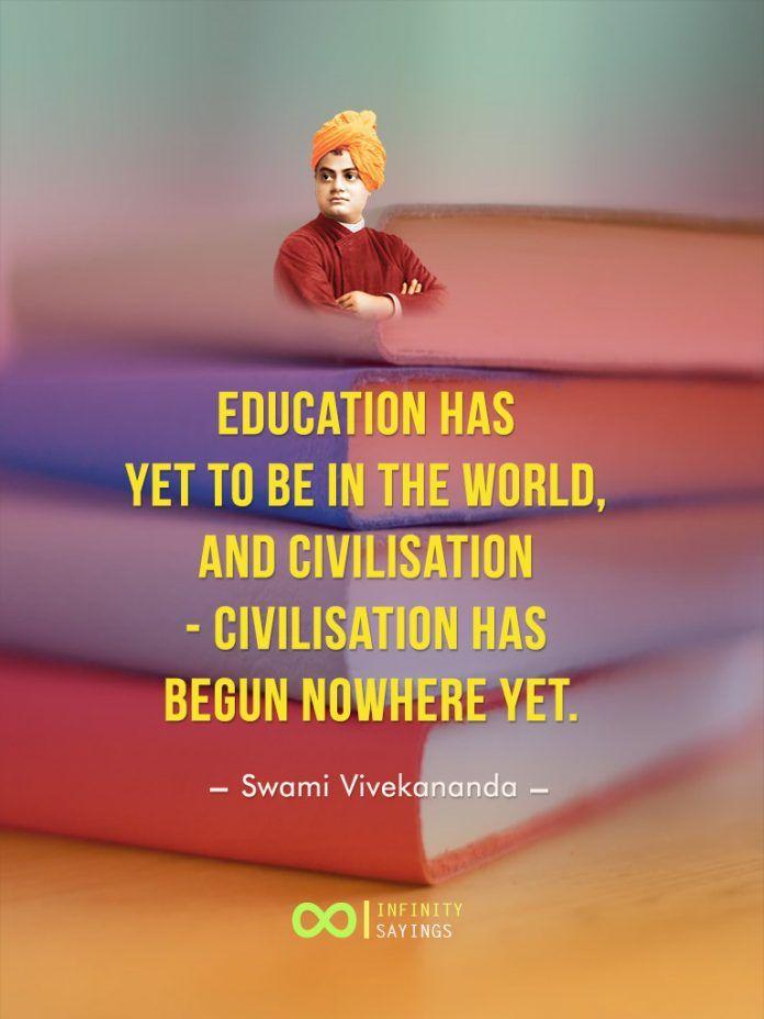 swami vivekananda sayings on education teacher student