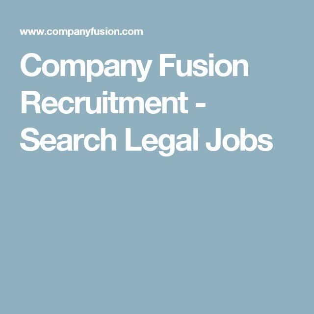 Company Fusion Recruitment - Search Legal Jobs