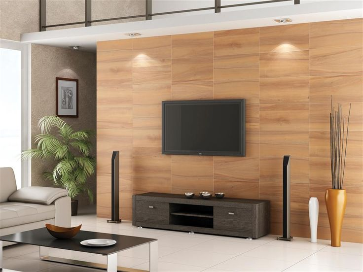 mahogany wall tile - Living Room Wall Tiles Design