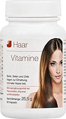 Vihado Haar-Vitamine - intensiv Vitalformel, Biotin + Selen + Zink, 60 Kapseln, 1er Pack (1 x 25,55 g)
