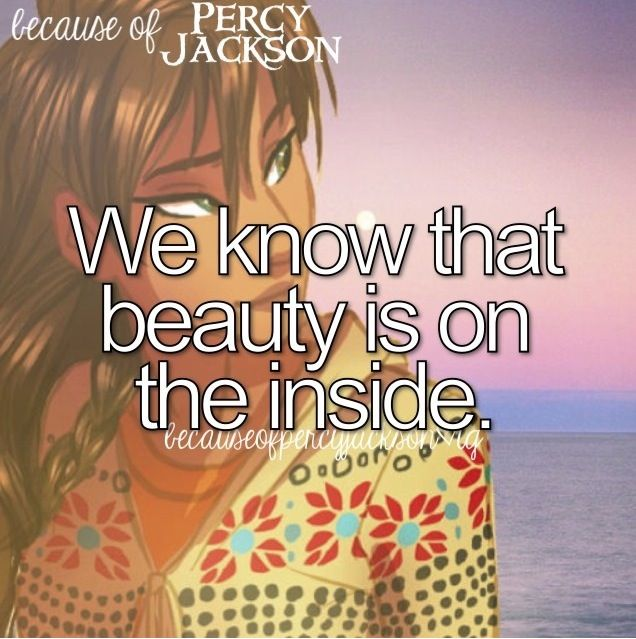 we know beautiful is on the inside