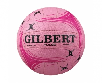 GILBERT Pulse Training Netball. This entry level ball is suitable for social matches, training sessions and recreational play. It has been constructed and designed for outdoor use and is made up of a performance butyl bladder that has been covered in a high grade natural rubber surface. The cotton laminate hydratec technology combines technical fabrics and external waterproof laminations to enhance the performance and life of the ball.