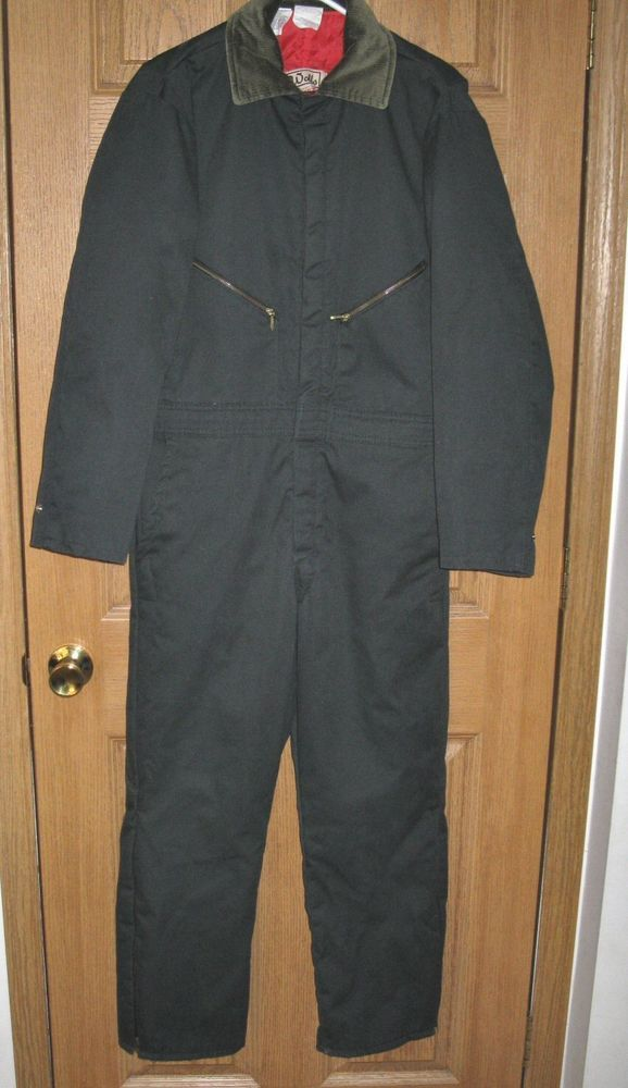 Mens Walls Blizzard Pruf Work Insulated Coveralls Jumpsuit Size Medium Short #Walls