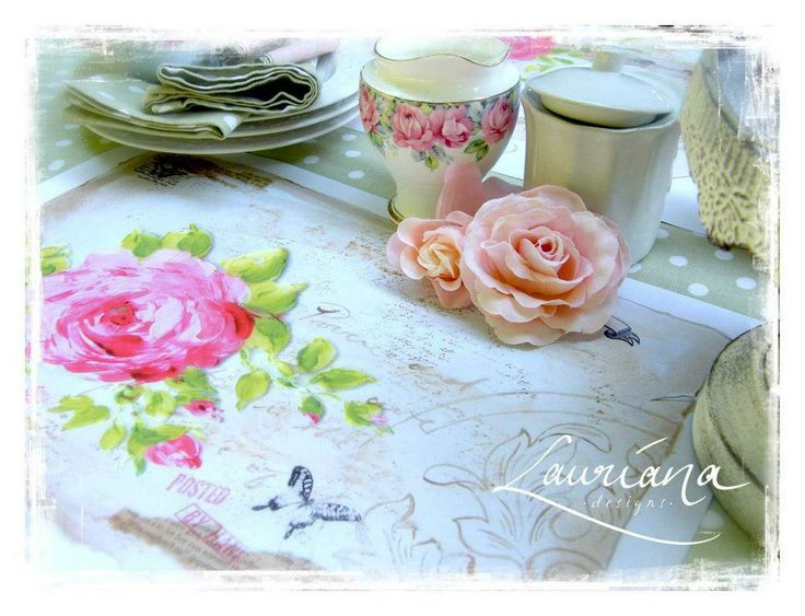 craftsandcards.com - Placemat Pad - Roses, R125.00 (http://www.craftsandcards.com/placemat-pad-roses/)