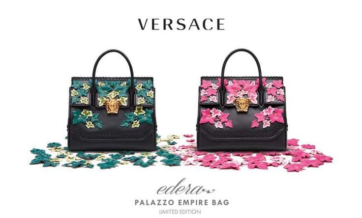 L'esclusiva Borsa Edera Versace limited edition omaggia Gianni Versace