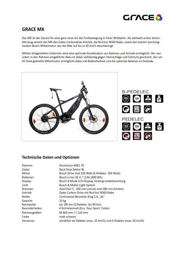 보쉬 전기자전거 그레이스 MX : 네이버 블로그