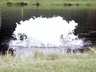 Kasco 2 HP Surface Pond Aerator - This reliable unit is one of the highest oxygen producing aerators we offer!