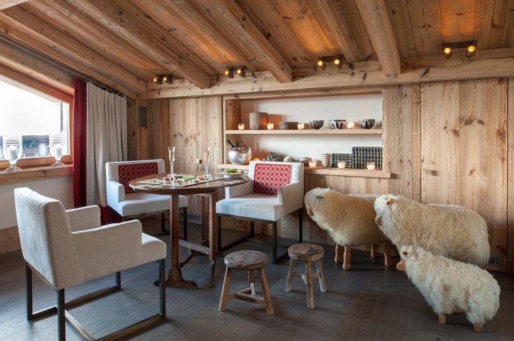 Le Hameau de la Volière, nouveaux chalets à Courchevel de la collection Evok - Dailybedroom