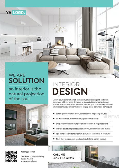 Interior Flyer Promo Brosure Design