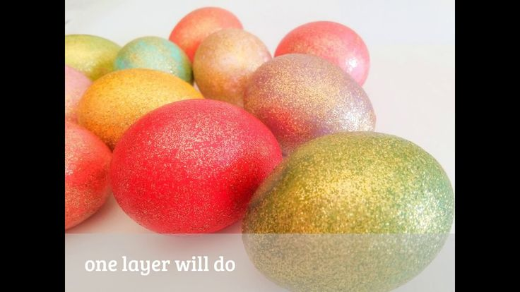 ❀  How to Add Sparkle to Easter (Eggs ) ❀